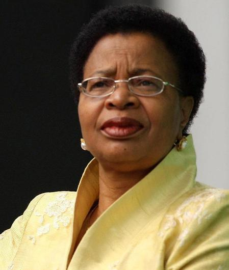 Nelson Mandela's wife Graca Machel, who cancelled an appearance at a hunger summit as her husband was treated in hospital for a lung infection. Photo by Daniel Berehulak/PA Wire