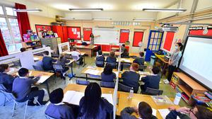 The majority of pupils returned to school on Tuesday.