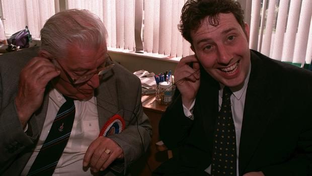 PACEMAKER BELFAST.  Ian Paisley  and Ian Jnr.