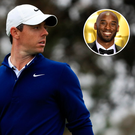 Rory McIlroy explained his admiration for Kobe Bryant on Sunday.
