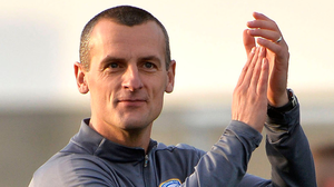 Northern flavour: Oran Kearney and Stephen Robinson will meet on Euro duty later this month
