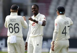 Jofra Archer was on a hat-trick (Lee Smith/PA)