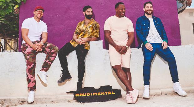 Rudimental have two number one albums and three number one singles (The Corner Shop PR/PA)