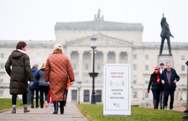 Parliament Building at Stormont in east Belfast where the Northern Ireland Executive has revealed its plan to ease out of the lockdown due to the COVID-19 pandemic. Picture by Jonathan Porter/PressEye