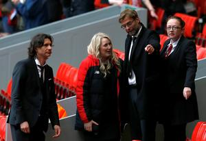 Manager Jurgen Klopp arrives for the last memorial service to be held at Anfield, Liverpool, to mark 27 years to the day since the tragedy claimed 96 lives. PRESS ASSOCIATION Photo. Picture date: Friday April 15, 2016. The 96 Liverpool fans died in the crush on the Leppings Lane terraces at Sheffield Wednesday's Hillsborough stadium after going to see their team play Nottingham Forest in an FA Cup semi-final on April 15, 1989. See PA story MEMORIAL Hillsborough. Photo credit should read: Peter Byrne/PA Wire