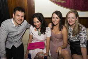 The Cloth Ear blues festival pictured Peter Lundy, Ann Maguire, Ciara Brennan and Catherine Loughrey