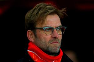 SUNDERLAND, ENGLAND - DECEMBER 30:  Jurgen Klopp, manager of Liverpool looks on before the Barclays Premier League match between Sunderland and Liverpool at Stadium of Light on December 30, 2015 in Sunderland, England.  (Photo by Ian MacNicol/Getty Images)
