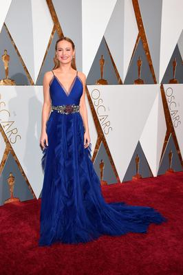 HOLLYWOOD, CA - FEBRUARY 28:  Actress Brie Larson attends the 88th Annual Academy Awards at Hollywood & Highland Center on February 28, 2016 in Hollywood, California.  (Photo by Ethan Miller/Getty Images)