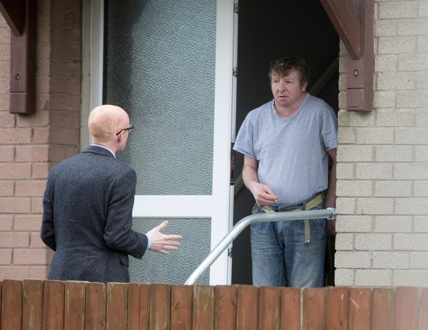 Trevor Begley who was on the Jeremy Kyle show at his Coleraine home. (Photo by Colm O'Reilly, Sunday Life 17-05-2019)