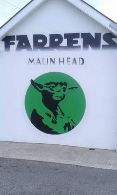 Farren's Pub in Malin Head