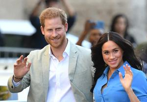 Harry and Meghan are now living in Los Angeles after stepping down as working royals (Dominic Lipinski/PA)