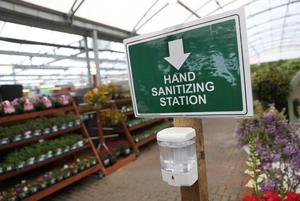 People can now go to garden centres, albeit with restrictions in place (Andrew Matthews/PA)