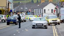 The scene of the accident on October 18th 2017 (Photo by Kevin Scott / Belfast Telegraph)