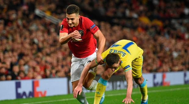 Fresh start: Diogo Dalot is back from injury