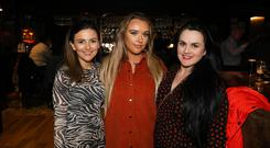 Press Eye - Belfast - Northern Ireland - 15th March 2019 - Alice Canning, Meghan Gordon and Grainne Maher pictured at the Ten Square Hotel to celebrate the final phase of a £20m+ expansion of the Belfast city centre hotel. Photo by Kelvin Boyes / Press Eye.