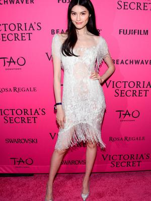 NEW YORK, NY - NOVEMBER 10:  Sui He attends the 2015 Victoria's Secret Fashion After Party at TAO Downtown on November 10, 2015 in New York City.  (Photo by Grant Lamos IV/Getty Images)
