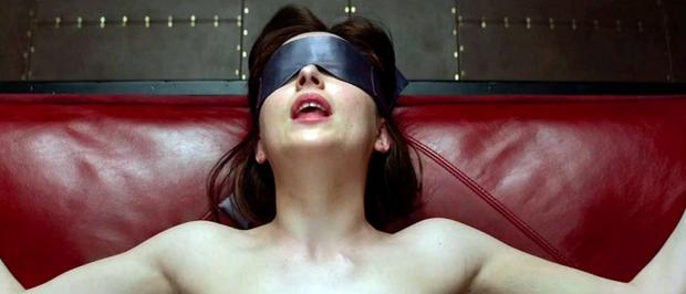 A scene from the upcoming Fifty Shades Of Grey film