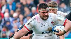 Bring it on: Marty Moore can't wait to get into his stride against Clermont at Stade Marcel-Michelin