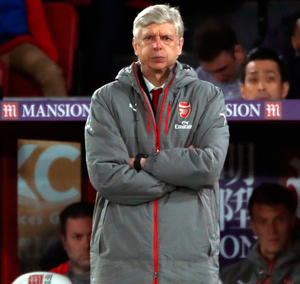 As is: Arsene Wenger insists there has been no power shift