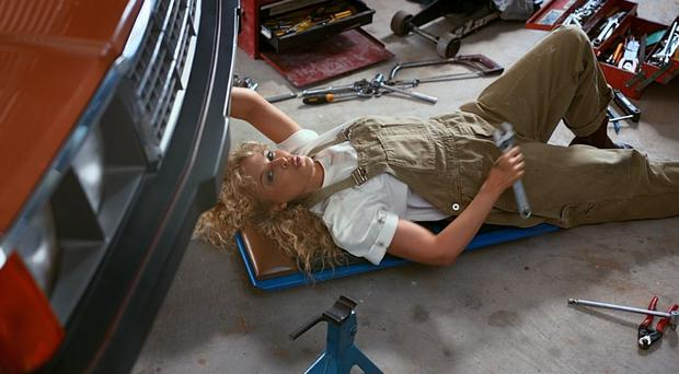 Kylie Minogue stars in the promotional video for Tourism Australia (Copyright: Tourism Australia/PA)