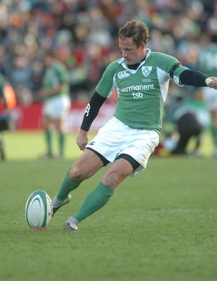 David Humphreys had missed an easy penalty in Dublin the previous year. Now he had a 45-metre effort to win against the French for the first time in 28 years. It wasn't a kick, it was a test of character, and Humphreys nailed it