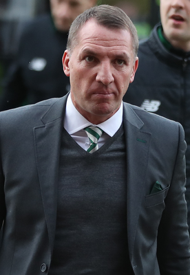 Determined: Brendan Rodgers has great record against Gers