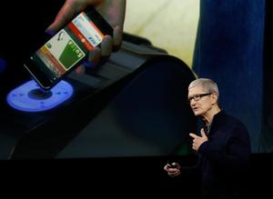 Apple CEO Tim Cook speaks during an announcement of new products Thursday, Oct. 27, 2016, in Cupertino, Calif. (AP Photo/Marcio Jose Sanchez)