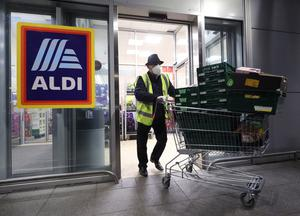 Aldi has been named the UK's top in-store supermarket in the annual Which? survey (Yui Mok/PA)