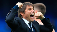 More to come: Chelsea boss Antonio Conte expects Chelsea to be stronger next season. Photo: Nigel French/PA