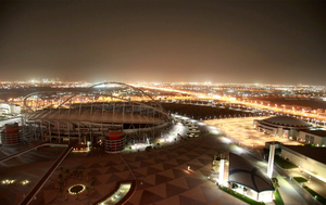 Big plans: Khalifa International Stadium in Dohar is one of the proposed host venues for the 2022 World Cup