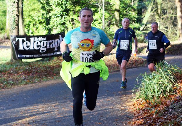 Mandatory Credit - Picture by Freddie Parkinson/Press Eye © Saturday 19th November 2016 Belfast Telegraph Run Forest Run Drum Manor Forest Park, Drum Road, Cookstown BT80 9RT Brian	 Reed from Newtownabbey