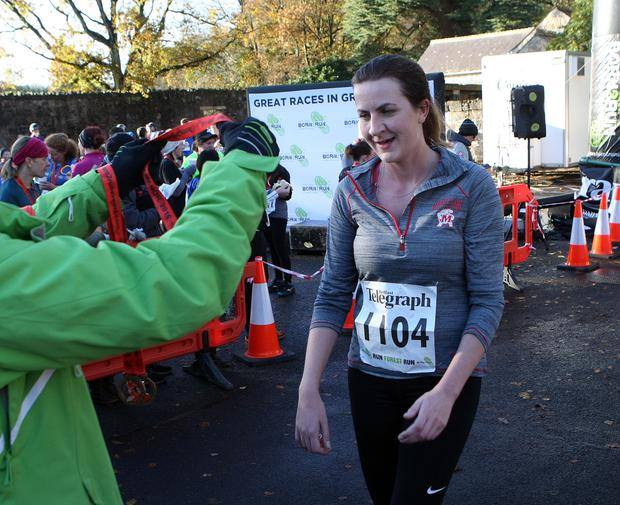 Mandatory Credit - Picture by Freddie Parkinson/Press Eye © Saturday 19th November 2016 Belfast Telegraph Run Forest Run Drum Manor Forest Park, Drum Road, Cookstown BT80 9RT Lynne Todd from Belfast