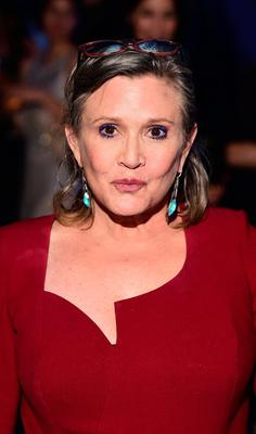 File photo dated 16/12/15 of Carrie Fisher, who has died at age 60, her daughter's publicist said. PRESS ASSOCIATION Photo. Picture date: Tuesday December 27, 2016. See PA story DEATH Fisher. Photo credit should read: Ian West/PA Wire