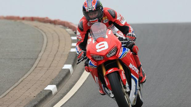 Pacemaker Belfast 12-5-18 Vauxhall International North West 200 -  practice session Ian Hutchinson (Honda Racing Honda) during today's  practice session at the Vauxhall International North West 200 in Portrush.  Photo by David Maginnis/Pacemaker Press