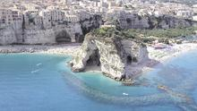 The Calabrian coast in Italy where the villas scheme was based