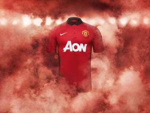 The new Manchester United home kit NIKE