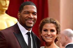 Michael Strahan who makes the 2014 Sexiest Man Alive list  (Photo by Frazer Harrison/Getty Images)