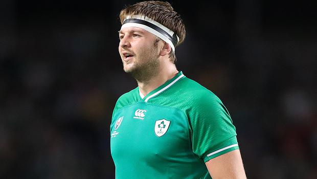Iain Henderson will not feature in for Ireland at Twickenham on Sunday
