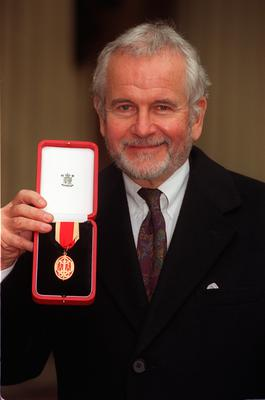 Sir Ian Holm after receiving his knighthood (Sean Dempsey/PA)