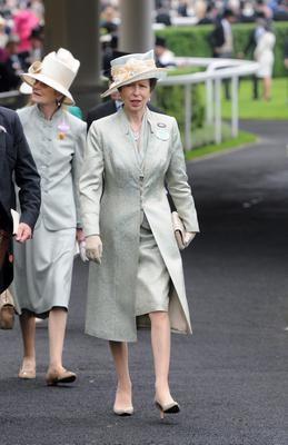 ASCOT, UNITED KINGDOM - JUNE 20: Princess Anne, Princess Royal attends Ladies Day on Day 3 of Royal Ascot at Ascot Racecourse on June 20, 2013 in Ascot, England. (Photo by Eamonn M. McCormack/Getty Images)