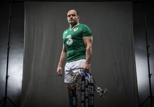 Standing tall: new Ireland skipper Rory Best will be keen to fire out a statement of intent when his side get the defence of their Six Nations crown under way next weekend
