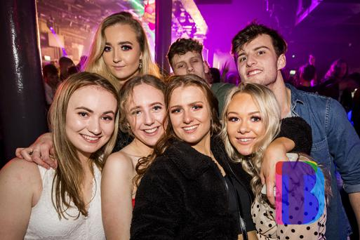 04 Jan 2020 People out at Limelight for AAA Saturdays. (Liam McBurney/RAZORPIX)