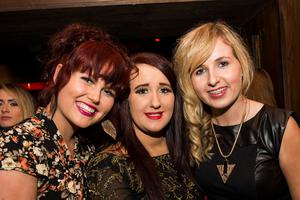 Ollies Night club pictured Laura Kilpatrick, Rachel mc elhone and cait Cunningham