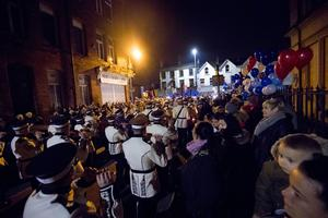 A vigil is held Cluan Place where Ian Ogle was murdered on January 30th 2019 (Photo by Kevin Scott for Belfast Telegraph)