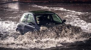 Flooding is affecting many roads across Northern Ireland.