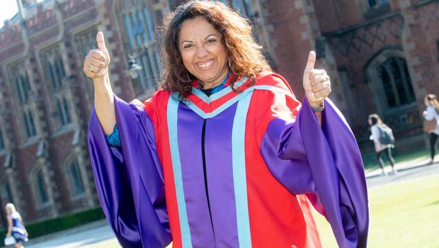 Dr Smita Awasthi from Bangalore, India, graduates with a Doctor of Philosophy in Autism Behaviour Analysis from the School of Social Sciences, Education and Social Work at Queen's University.