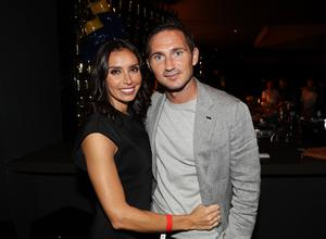 Christine and Frank Lampard pictured at the Carl Frampton v Leo Santa Cruz bout in Saturday nights WBA featherweight title contest at the Barclays Centre, Brooklyn, NY.  Press Eye - Belfast -  Northern Ireland - 30th July 2016 - Photo by William Cherry