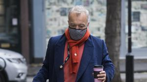 Graham Norton arrives at Wogan House in London to broadcast his final BBC Radio 2 programme (Kirsty O'Connor/PA)