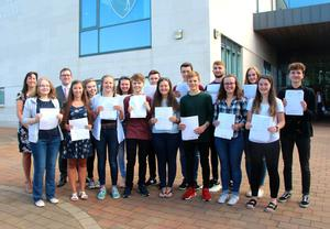 PACEMAKER BELFAST   17/08/2017 A Level Results 2017