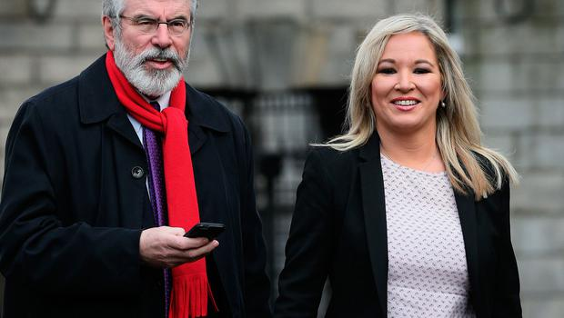 Wrong tack: Gerry Adams and Michelle O'Neill could undermine their own ambitions for a united Ireland